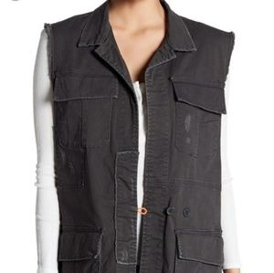 Supplies by UnionBay Jean's vest NWT